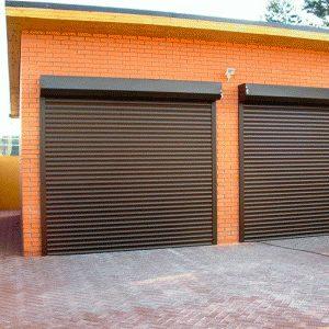 Защитные гаражные ворота ролеты