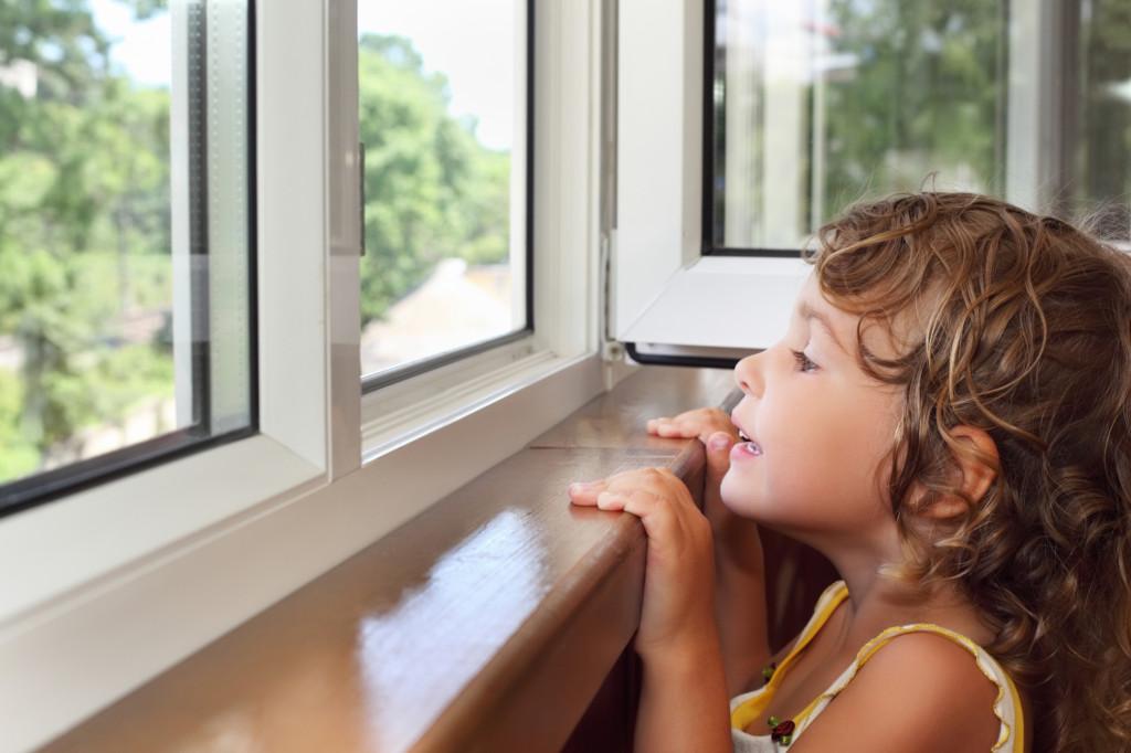 Пластиковые окна для детской спальни